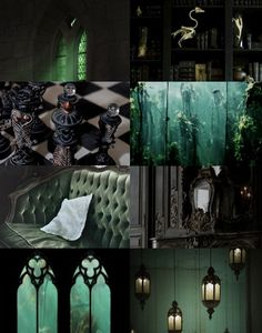 Harry Potter Aesthetics  ➤ Houses common rooms