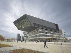 Library and Learning Centre University of Economics Vienna,© Roland Halbe