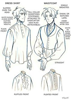 Regency Clothes