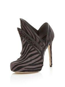 Alejandro Ingelmo Women's Origami Stiletto Bootie (Grey/Black)
