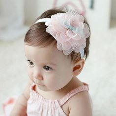 Cheap lace hair accessories, Buy Quality hair accessories directly from China baby girl headbands Suppliers: Cute Baby Girl Headband Sweet Big Flower Hair Band Children elastic hair band headband Lace Hair Accessories Flower Hair Band, Flowers In Hair, Hair Bands, Lace Flowers, Big Flowers, Flower Girl Hairstyles, Headband Hairstyles, Bandeau Rose, Flower Girl Hair Accessories