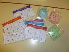 La maternelle de Laurène: Le loto des lettres