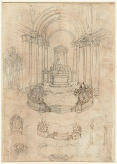 Greatness, illusion, bitter rivalry, and a tragic end. It's a life story that could easily have been penned for a Hollywood epic drama. Rijksmuseum (Public Domain) http://blog.europeana.eu/2012/09/borromini-rivalry-illusion-and-tragedy