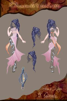 Chamomile's enchantix concept by Carrota.deviantart.com on @deviantART Love this design