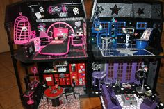 Mh House On Pinterest Monster High Dolls Monster High