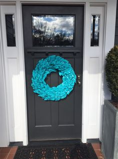 Transform a standard magnolia wreath into a year-round show stopper