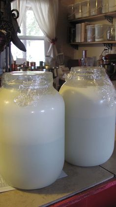How to: Homemade dairy products; butter, sour cream, ghee, etc.