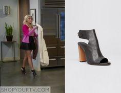 Young & Hungry: Season 2 Episode 14 Gabi's Black Cut Out Heels