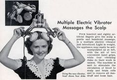 This is an electric head massager