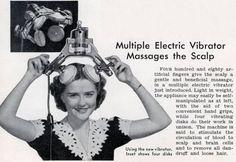 Head Messager For Women... instant afro hair styler!
