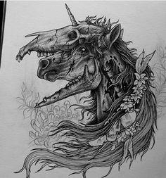Spooky Tattoos, Wicked Tattoos, Body Art Tattoos, Dark Art Drawings, Pencil Art Drawings, Art Sketches, Skull Tattoo Design, Tattoo Design Drawings, Cartoon Character Tattoos