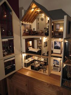 lakeview house dolls house emporium by mike adamson dolls houses past bookcase dolls house emporium