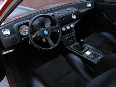 I don't think I have ever seen a De Tomaso Pantera interior look this good. I want one!