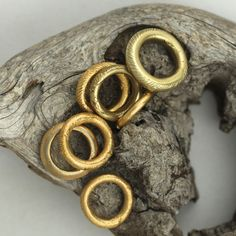MIGNOT ST BARTH African gold ring. Awesome. You need three.