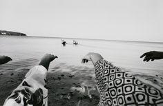 東松照明「《太陽の鉛筆》 西表島」(1972年)
