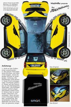 recortables-coches-nuevos-1 | Dibujos para cortar y colorear