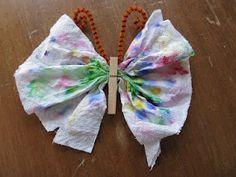 #Knutselen#Vlinder#Eenvoudig