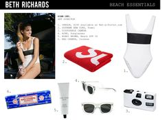 Black and white striped polyester-blend Scoop back, partially lined Pulls on polyester, elastane; Giuseppe Zanotti Shoes, Clover Canyon, Beach Essentials, Striped Swimsuit, Silk Shorts, Sporty Chic, Art Director, Bobbi Brown, Alexander Mcqueen