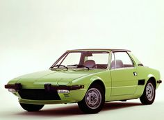 FIAT X 1/9...a great little car at the wrong time in history. It was severely hampered by mid-seventies bumper and clean air regulations. With today's technology, it would be fantastic.