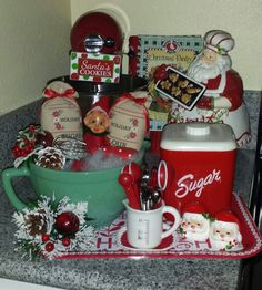 Cozy Christmas .... I make up gift baskets like this as gifts. I actually used to do it as a business. 8-)