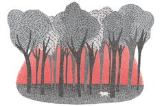 Laurie Hastings beautiful illustrations. New signing at Rare Bird