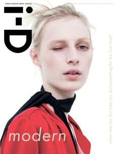Julia Nobis by Willy Vanderperre for i-D Magazine Summer 2014
