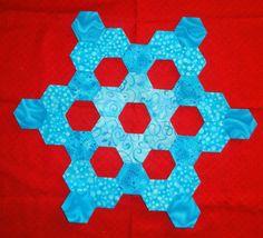 Den syende himmel: Hexagon BOM - januar