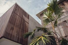 Tropical Brutalism: The Slow Hotel Interior, Canggu, Bali – Design. Modern Tropical, Tropical Design, Tropical Houses, Bali Architecture, Tropical Architecture, Facade Design, Design Hotel, Brutalist, Canggu Bali