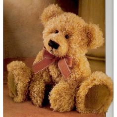 Lovable brown bear
