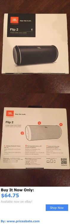 electronics: New Jbl Flip 2 Portable Bluetooth Wireless Stereo Speaker W/Built-In Mic Black BUY IT NOW ONLY: $64.75 #priceabateelectronics OR #priceabate