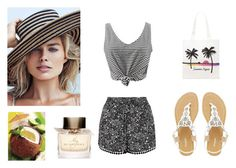 """Summer.."" by leagoo ❤ liked on Polyvore featuring New Look, WithChic, Dune, Forever 21 and Burberry"