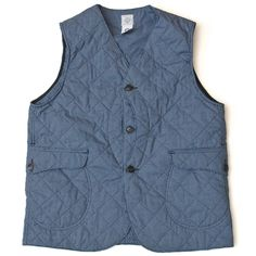 Post Overalls Optic Shirt Nylon Quilted Royal Traveler Vest | Lost & Found