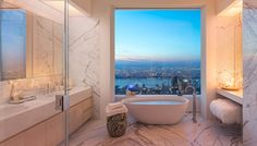 432 Park Avenue - architecture by Rafeal Viñoly. Interior by Kelly Bahun.