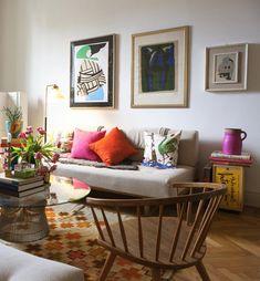 Wisuella: Liselotte Watkins's home in Milano