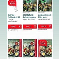 Reklam för min webbshop hos Adlibris 😁🎉Nu finns mina grillsvärd på lager igen. Begränsat antal och lanseringserbjudande🔥Sist sålde de slut på bara några timmar. Du hittar även signerat exemplar av Zeinas Green Kitchen fullmatad med vegetariska recept från jordens alla hörn. De flesta recept är veganska och helt nya framtagna till denna bok. De få recept som inte är veganska tipsar jag om hur man enkelt veganiserar dem💚 Man kan även beställa Zeinas Kitchen recept från Mellanöstern på rea… Bok, Zeina, Curry, Pizza, Curries