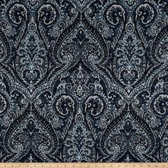 Online Shopping for Home Decor, Apparel, Quilting & Designer Fabric Living Room Upholstery, Upholstered Furniture, Shades Of Blue, Accent Pillows, Fabric Design, Printing On Fabric, Paisley, Modern, Prints
