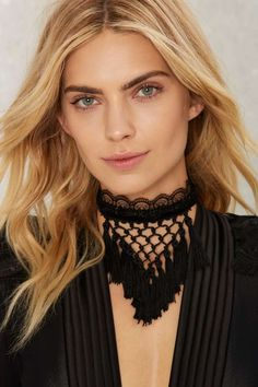 The Great Fall Tassel Choker | Shop Accessories at Nasty Gal!