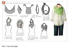 Knot, Twist and Drape