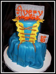 Brave themed cake.