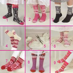 Äänestä suosikkisi Roosa nauha sukkavalikoimasta
