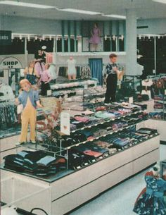 Pleasant Family Shopping: A Mid-50's Inside Look at Sears