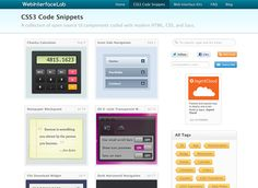 css3 code snippets