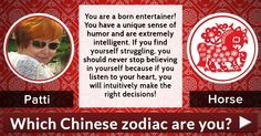 Which Chinese zodiac are you?