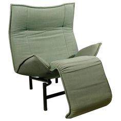Original Italian VERANDA Lounge Chair by Vico Magistretti