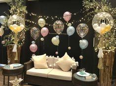 #バルーン #ソファ #何故か切ない #夜の祭り #夜のカーニバル / #パステル #華やかな #シック Wedding After Party, Wedding Day, Harry Birthday, Christening, Event Planning, Diy And Crafts, Backdrops, Balloons, Merry Christmas