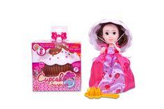 Яркий и красочный кекс Cupcake Surprise с легкостью превращается в прекрасную принцессу в нарядном платье, а крышечка капкейка - в изящную шляпку! Благодаря расческе, которая входит в набор, из длинных волос кукол можно сделать множество причесок  #Cupcake #куклы-капкейки #куклы #куклы-кексы #куклы #Cupcake-Surprise #куклы-сюрпризы #игрушки #дети
