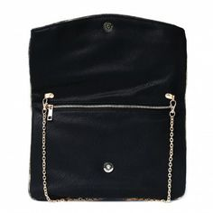 Fold Over Envelope Clutch Bag