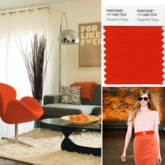Interiors & fashion #PinPantone
