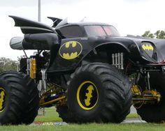 Batmobile MonsterTruck #batman #monster #truck   www.crcint.com