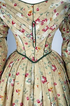 Old Rags - Day dress, 1836-40 UK, the V Museum